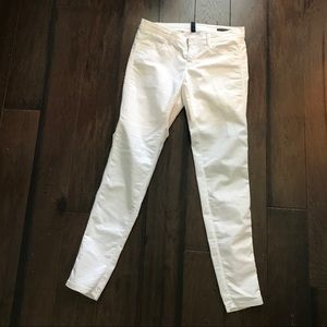 United Colors of Benetton White Skinny Jeans sz 28